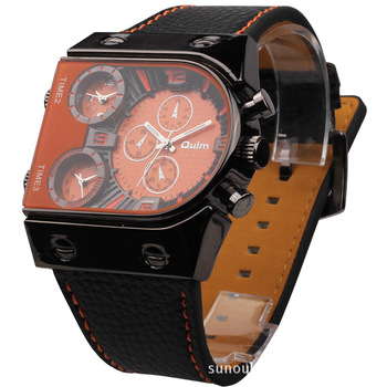 Best luxury watches men 2014. New model watches men with 3 different time zone.