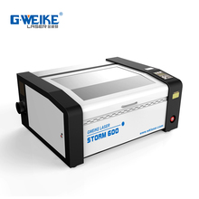 Factory price water-cooled CO2 Cheap rubber stamp laser engraving machine 40W 6040 for sale