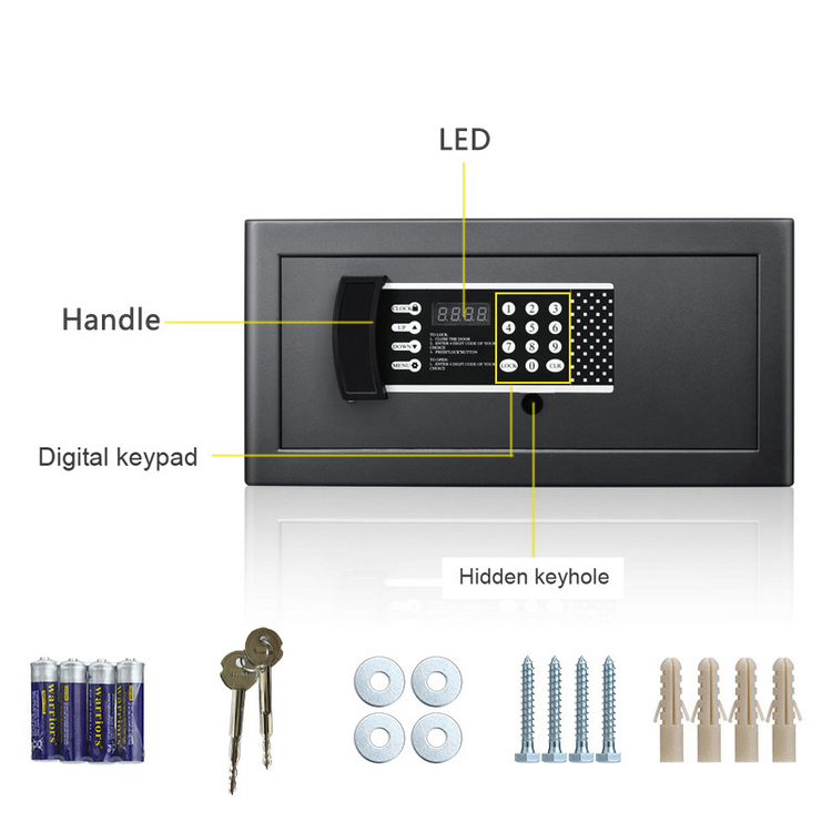 Professional Custom Design Security Draw Safe Box
