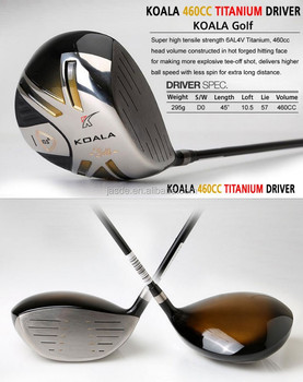 Non Conforming Golf Driver Heads