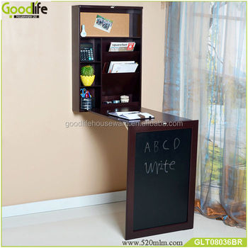 Living Room Wall Mounted Cabinet With Writing Desk