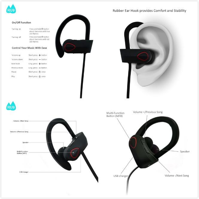 Stylish Wireless Bluetooth Headphones,Noise Cancelling Wireless ...