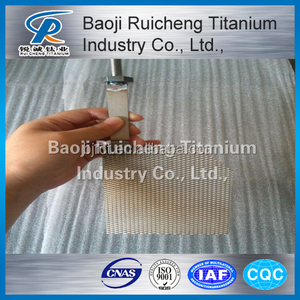 supply Ru-Ir Coated Titanium Anodes titanium anode,titanium electrode for chlor alkali