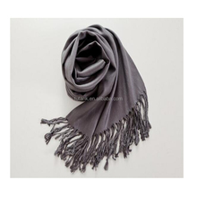 unsiex Fashionable pure cashmere fringe scarf various color