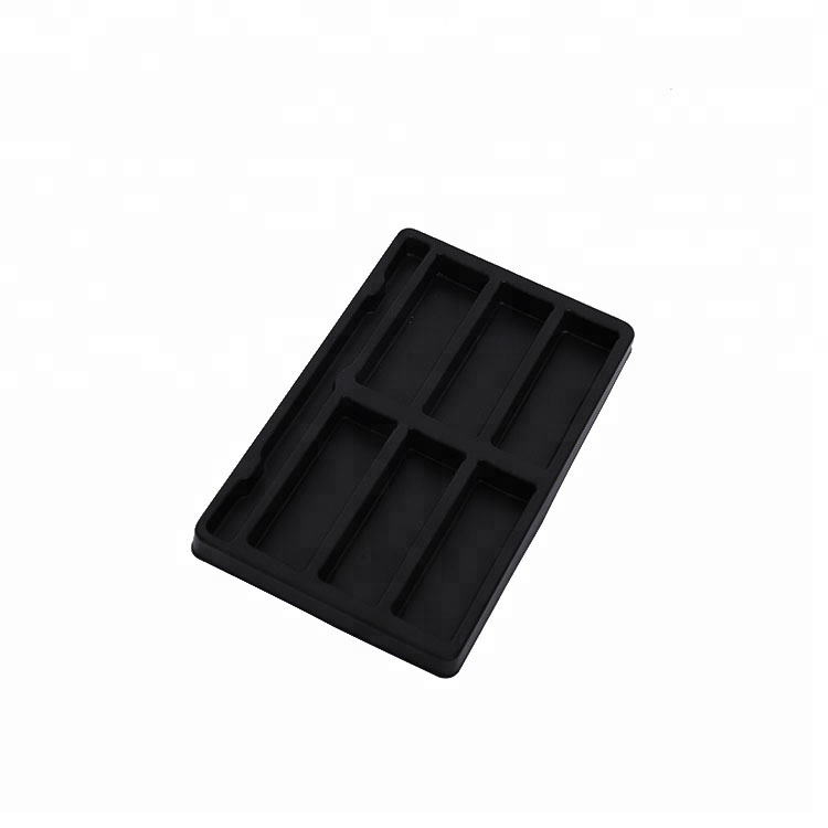 PP Rectangle Plastic Storage electronic Blister Packaging Boxes Tray