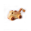 Early Educational Wooden Montessori Material Toys Play Car Blocks Sets For Kids