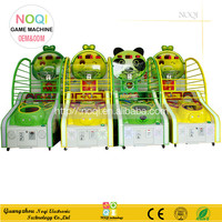 NQK-A04 kids electric toy indoor coin operated arcade hoops cabinet basketball game for sale