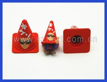 3D Japan Cartoon Characters Eraser, custom design MOQ10000 pcs