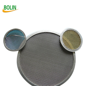 10 20 50 75 100 Micron Stainless Steel Round Metal Filter Disc