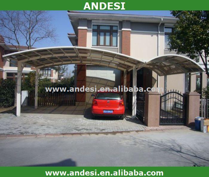 doppelkabine aluminium carport mit kunststoff dach garage. Black Bedroom Furniture Sets. Home Design Ideas