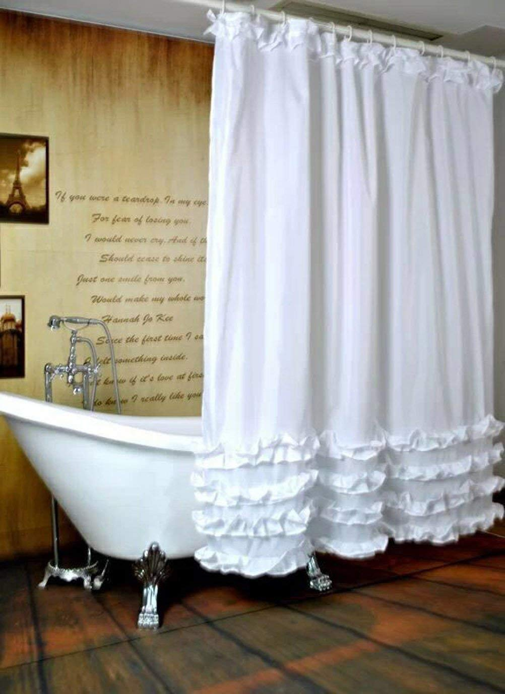 Cheap White Lace Shower Curtains Find White Lace Shower