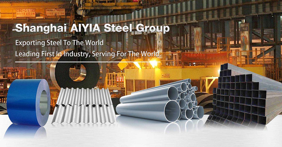 AIYIA Chinese manufacturers supply galvanized steel pipes for building construction materials at low prices