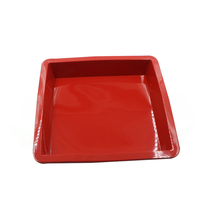 Most flexible non stick square shape cake mould bakeware made from 100% food grade silicone