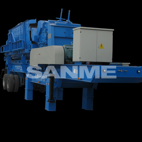 PP Series Mobile Stone Crusher Machine Company