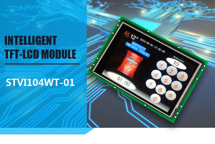 STONE Programmable Touch Screen Controlled By Any MCU 10.4 Inch LCD 800x600 HMI