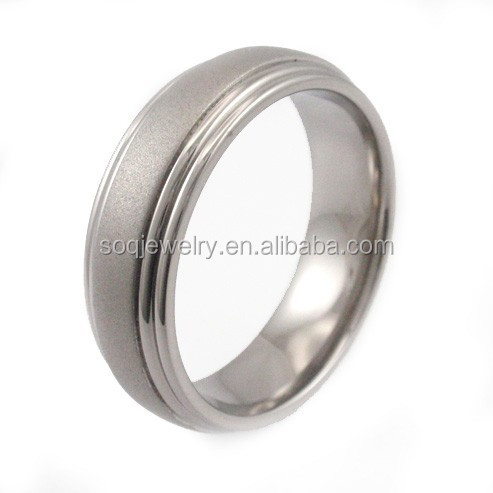 wholesale high quality rings for men without stone china factory 316l stainless steel jewelry