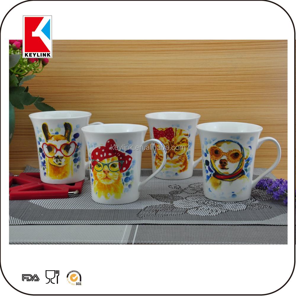 2016 New Promotional Gift Items White Porcelain Mugs New Bone ...
