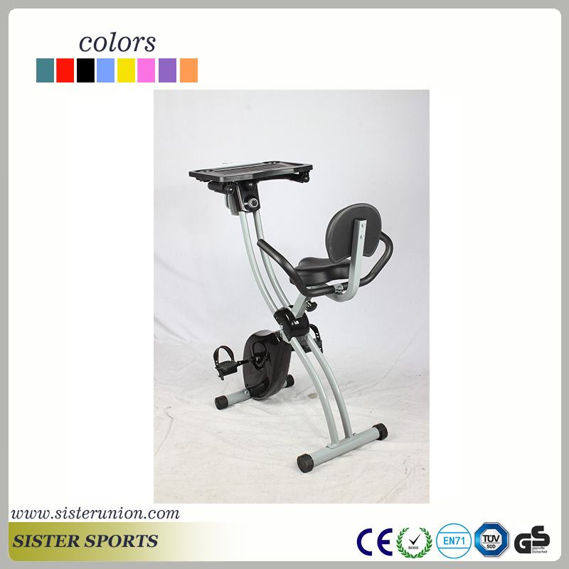 8 level adjustable gym magnetic recumbent x folding bike