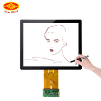 17 inch tft ir multi ultra wide touch screen monitor for proface and raspberry pi