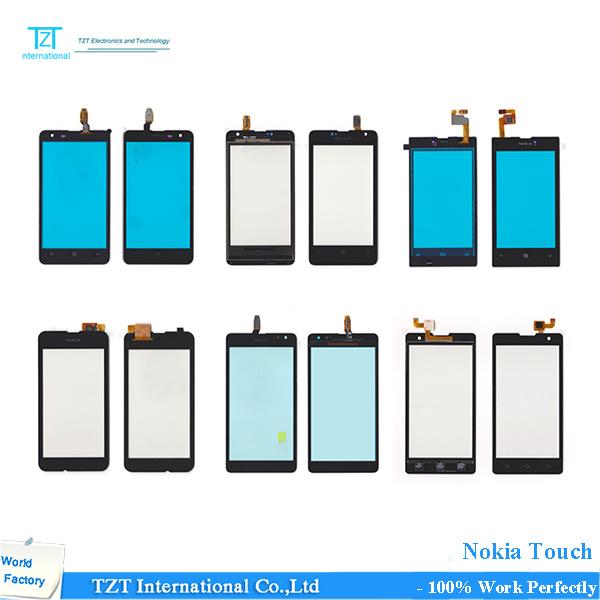 TZT Fábrica Melhor Preço Trabalho Bem Tela de Toque Do Telefone Móvel para NOKIA 535 Painel N535 2 s