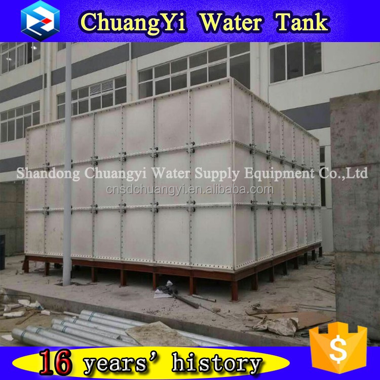 Professional manufacturer frp water tank for irrigation, 500m3 frp water storage tank, grp frp water tank for sudan