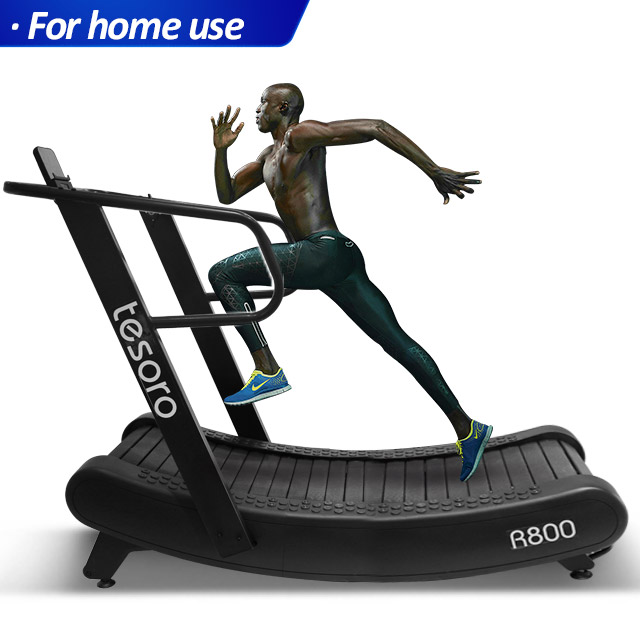 innovation 2019 curved treadmill self-powered treadmill non-motorized woodway manual trademill for home use