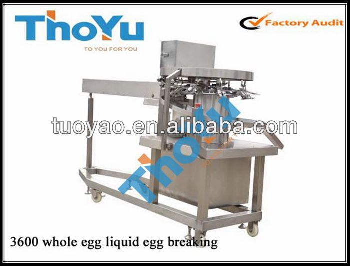 Yolk separator /High Breaking Rate Egg Breaking machine n alibaba
