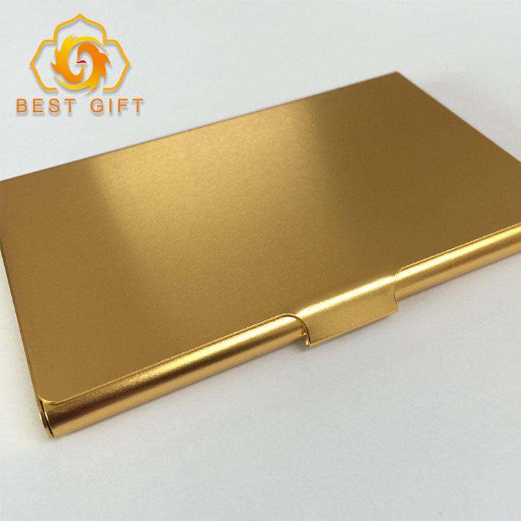 Custom Promotion Aluminium Metal Mini Business Credit Name Card Case ...