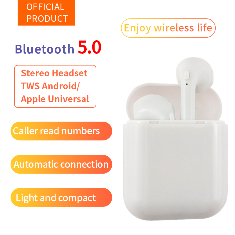 Manufacturer i9s TWS Bluetooth Headset Earphone Wireless Earbuds with Charging Case