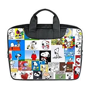 88976a3d024d82 JOJO custom laptop bag Cute Snoopy computer handbags for 17 inch messenger  bag office easy carry
