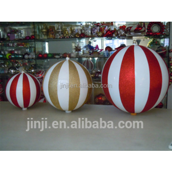 large plastic christmas balls - Large Plastic Christmas Decorations