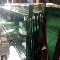 Good quality reasonable price cut to size 884 transparent safety laminated glass 17.52mm price