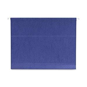 Smead Manufacturing Company Smead Manufacturing Company Hanging Folder, .2 Tab Cut, Letter Size, Navy Blue