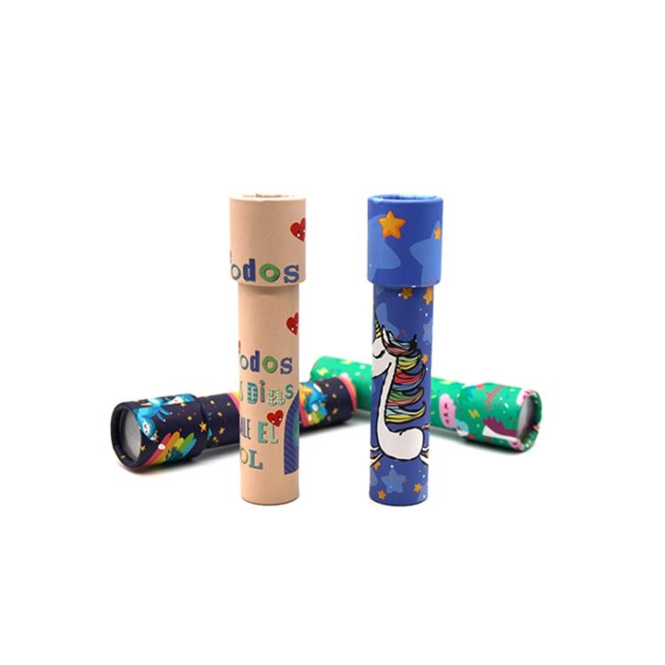 Preschool Explore Intelligence Development Colorful Various Children Kaleidoscope Toy