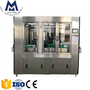 A-Z Project 2in1 Monobloc Design Tin Can Filling Seaming Machine