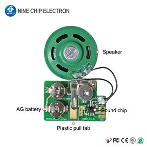 Recordable Voice module ic sound chip with usb for birthday card