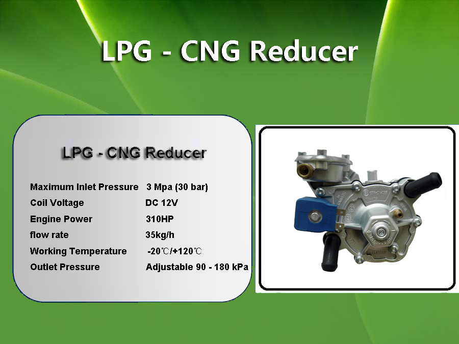 two stages reducer for LPG vacuum systems