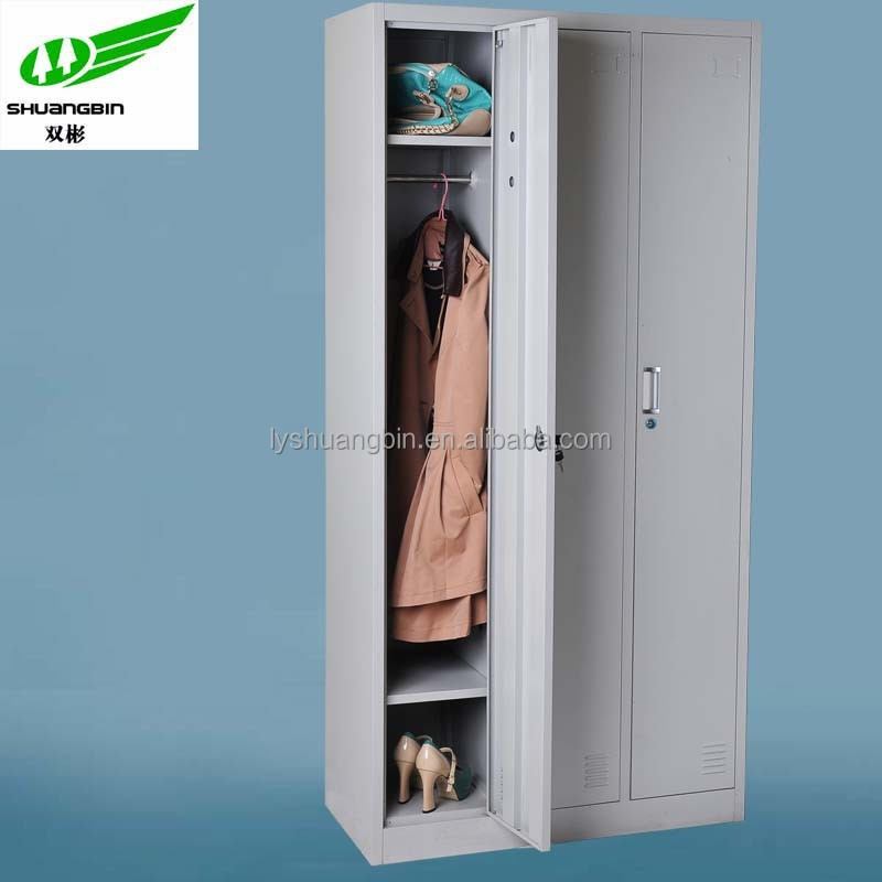 3 door hotel sheet metal locker furniture