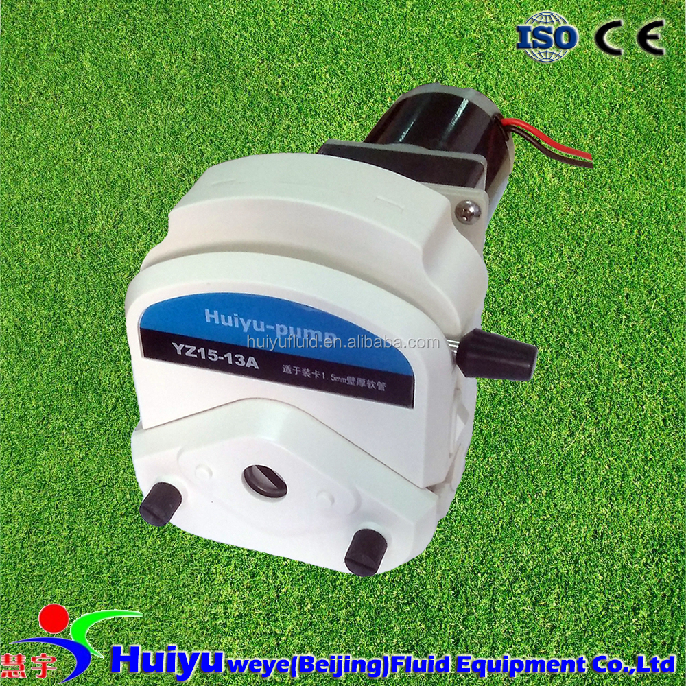 1000ml/mim 24V Peristaltic Pump with Exchangeable Pump Head