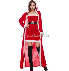 02c5efd2a5 Santa Claus Costume Sexy Dress