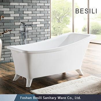 . Modern bathtub acrylic clawfoot bathtub soaking bathtub 009  View Modern  Bathtub  BESILI Product Details from Foshan Besili Sanitary Ware Co   Ltd   on