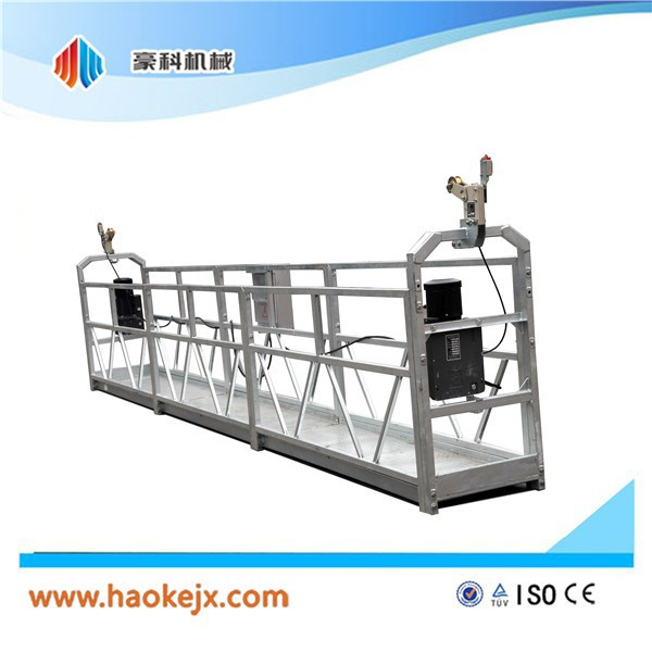 Suspended hoist gondola manual window high lifting platform truck