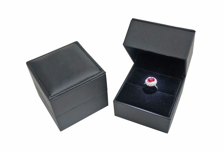 Cheap price led light luxury ring box with brand personal logo jewellery box packaging black pu  sc 1 st  Alibaba & Cheap Price Led Light Luxury Ring Box With Brand Personal Logo ... Aboutintivar.Com