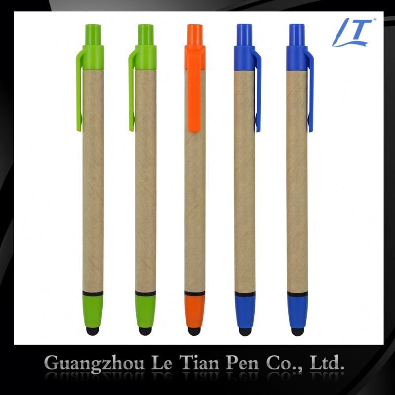 Wholesale Price Promotional Recycled Paper Pen