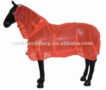 Orange Thick Summer Mesh Horse Rugs