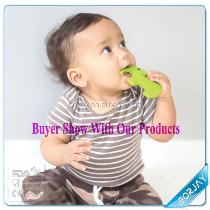 Eco-friendly bulk baby teething teether toy,infant teether