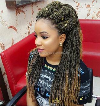 Free Tress Synthetic Hair Crochet Braid Senegalese Twist Small