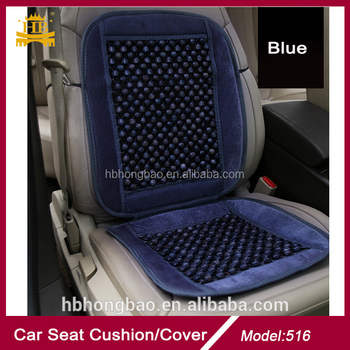 Blue Color Beads Car Seat Cover