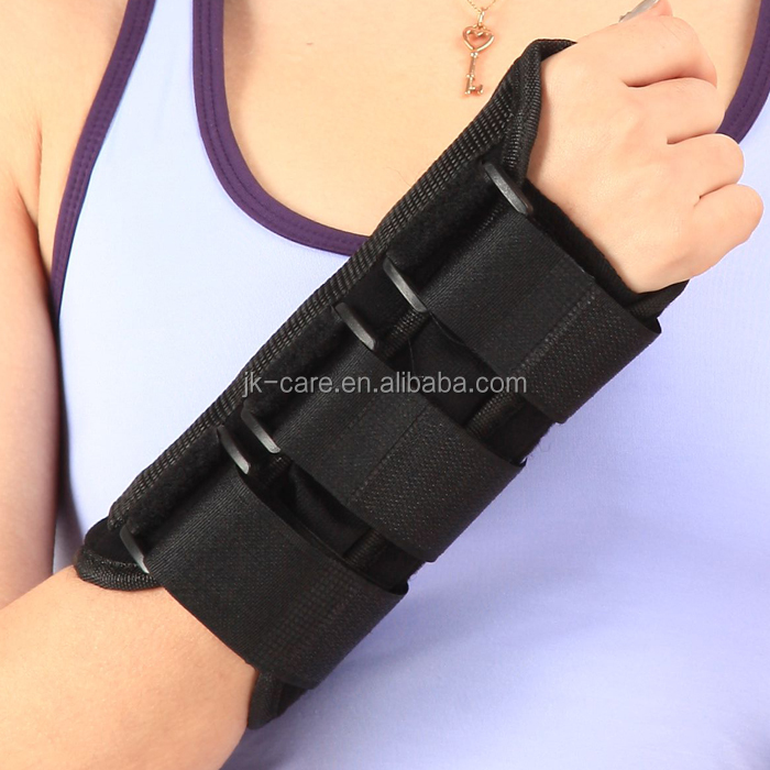 Elastic magnetic tourmaline self-heating wrist support ,high quality wrist wraps in wrist support