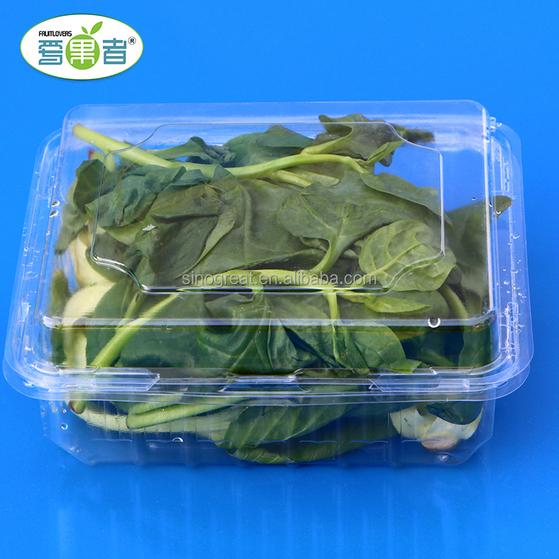 Plastic blister tray for vegetable dry fruit punnet box packaging